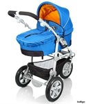 Коляска трехколесная комбинированная 2в1 Happy Baby Olimpia