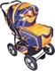 Детская коляска-трансформер SAMANTHA PC (Bart-Plast)