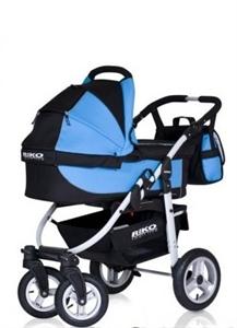 Коляска RIKO AMIGO 3 в 1 (Люлька+Прогулка+Автокресло)