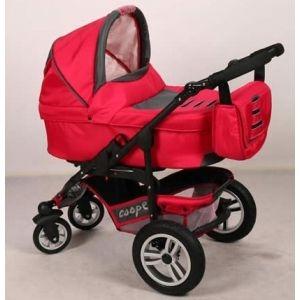 Детская коляска Anmar  COOPER  3 в 1  (люлька+прогулочная коляска+автокресло группы 0+)