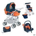 Детская коляска 3 в 1 Neonato Zeta 8 Tris