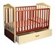 Кровать детская PAPALONI  Винни  продольный маятник