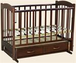 Кроватка детская  Радуга - Маятник (Ведрусс)