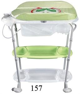 Cтол пеленальный NEONATO Olbi с ванночкой