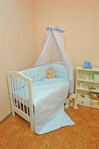 Детский комплект в кроватку Bombus Веселая семейка (7 предметов)