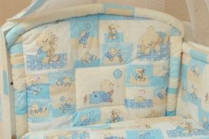 Детский комплект в кроватку Bombus Веселые игрушки  (7 предметов)