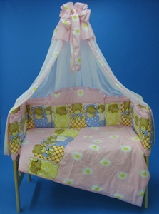 Детский комплект в кроватку Bombus Илюша (7 предметов)