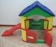 Игровой домик с горкой Happy Box JM-802B