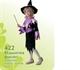 Карнавальный костюм Ведьмочка фиолет. 422