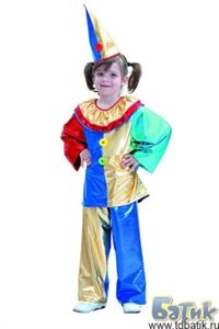 Карнавальный костюм  Клоун код 7001