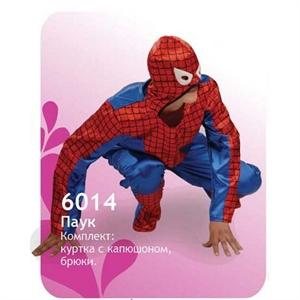 Карнавальный костюм 6014Человек - Паук