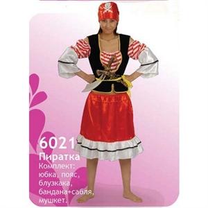 Карнавальный костюм 6021 Пиратка
