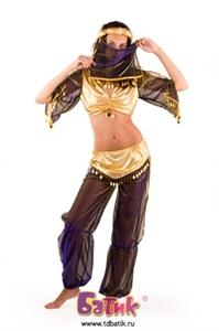 Карнавальный костюм Принцесса Востока (бархат) код 1111