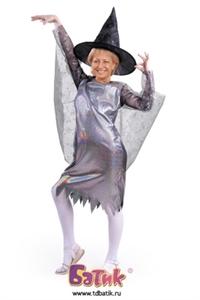 Карнавальный костюм Ведьмочка код 6004