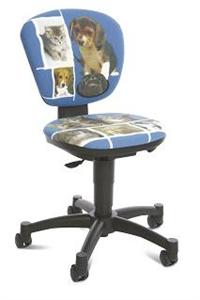 Детское компьютерное кресло Котята и щенки JB 7
