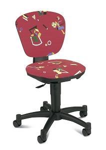 Детское компьютерное кресло Геометрические фигуры