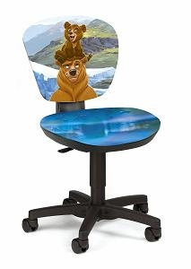 Детское компьютерное кресло Медведи  Power Bear 6210 C22