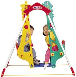 """Качели """"Жираф-Дракон"""" для двоих детей Haenim toy DS-710"""