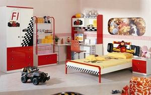 Детская комната для мальчиков Milli Willi Формула