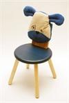 Детский стульчик с мягкой спинкой