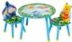 """Стол игровой круглый со стульями Disney """"Винни и Иа"""" TT 87392 WP"""