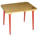 Стол массив с холодной  росписью h46  Хохлома 72520