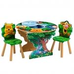 Стол игровой круглый Disney Винни в лесу TT 87341 WP