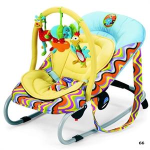 Креслице-качалка Chicco Relax & Play с игрушкой