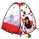 Домик-палатка с мячиками (100шт.) код ЛИ619