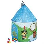 Игровой домик с мячиками Пираты (100 шт.) код 696