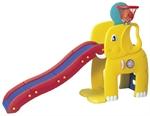 """Горка """"Слон"""" с баскетбольным кольцом Haenim toy HNP-715"""