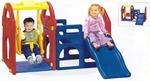 Игровой центр Дом с горкой и качели Haenim toy HN-708