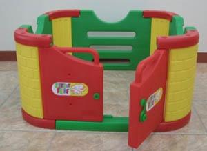Детский игровой манеж с дверцами Happy Box JM-801A