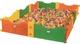 Игровой бассейн Happy Box JM-712 (с мячами 200.шт) 10 секций
