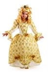 Карнавальный костюм Золушка Золотая 925