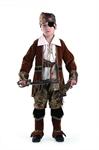 Карнавальный костюм Капитан пиратов коричневый 923