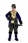 Карнавальный костюм Капитан пиратов лиловый 924