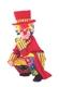 Карнавальный костюм Клоун Франт красный 926