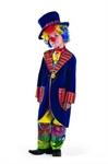 Карнавальный костюм Клоун Франт синий 927