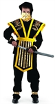 Карнавальный костюм Мастер-Ниндзя желтый 921