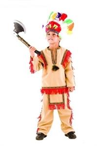Карнавальный костюм Индеец 421