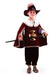 Карнавальный костюм Мушкетер бордо 401-1