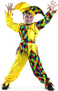 Карнавальный костюм шут карамболь 449