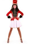 Карнавальный костюм Мажоретка(бархат) код 1108