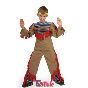 Карнавальный костюм Индеец-8009