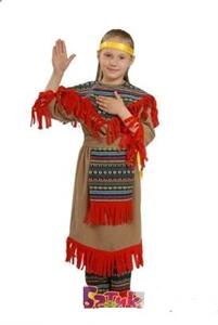 Карнавальный костюм Индианка 8010