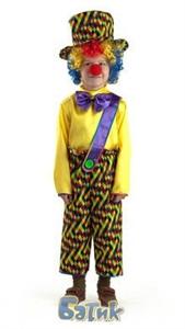 Карнавальный костюм Клоун Петя- 8043