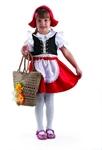 Карнавальный костюм Красная шапочка - 7002