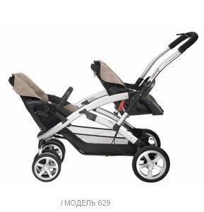 Детская коляска для двойни Casualplay S-Twinner