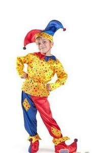 Карнавальный костюм Петрушка - 7005